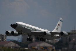 チャーリーマイクさんが、横田基地で撮影したアメリカ空軍 RC-135W (717-158)の航空フォト(飛行機 写真・画像)