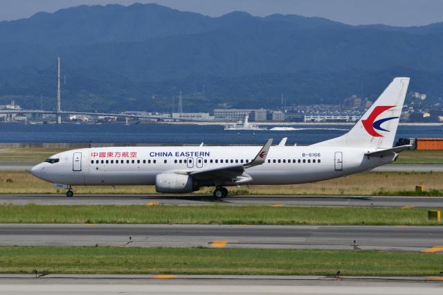 Deepさんが、関西国際空港で撮影した中国東方航空 737-89Pの航空フォト(飛行機 写真・画像)