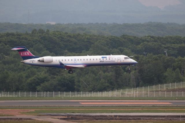 GNPさんが、新千歳空港で撮影したアイベックスエアラインズ CL-600-2C10(CRJ-702)の航空フォト(飛行機 写真・画像)