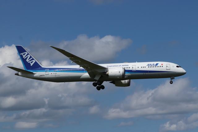 フレッシュマリオさんが、成田国際空港で撮影した全日空 787-9の航空フォト(飛行機 写真・画像)