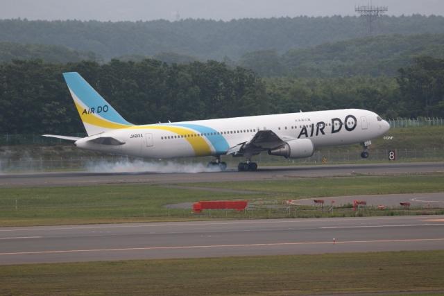 GNPさんが、新千歳空港で撮影したAIR DO 767-381/ERの航空フォト(飛行機 写真・画像)