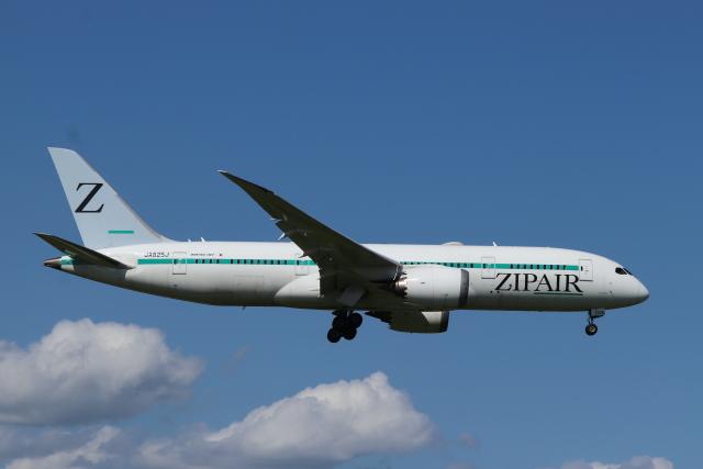 フレッシュマリオさんが、成田国際空港で撮影したZIPAIR 787-8 Dreamlinerの航空フォト(飛行機 写真・画像)