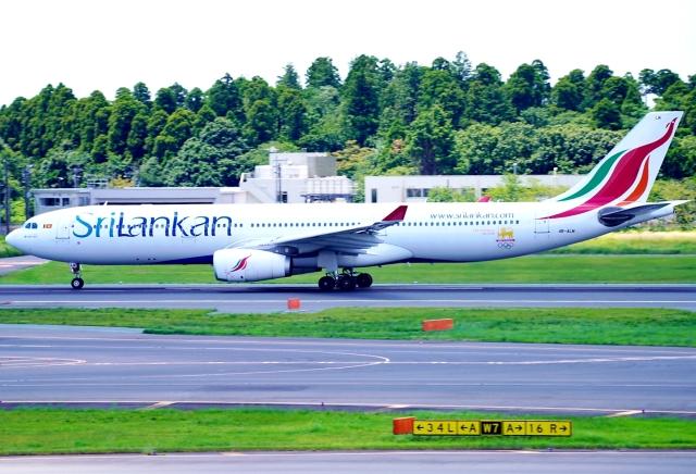 SFJ_capさんが、成田国際空港で撮影したスリランカ航空 A330-343Eの航空フォト(飛行機 写真・画像)