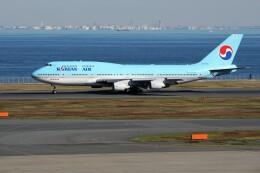 もぐ3さんが、羽田空港で撮影した大韓航空 747-4B5の航空フォト(飛行機 写真・画像)
