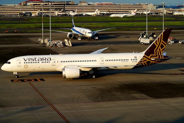 SFJ_capさんが、羽田空港で撮影したビスタラ 787-9の航空フォト(飛行機 写真・画像)