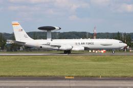 シン・マリオ先輩さんが、横田基地で撮影したアメリカ空軍 E-3B Sentry (707-300)の航空フォト(飛行機 写真・画像)