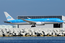 きんめいさんが、関西国際空港で撮影したKLMオランダ航空 787-9の航空フォト(飛行機 写真・画像)