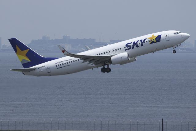 Sharp Fukudaさんが、羽田空港で撮影したスカイマーク 737-86Nの航空フォト(飛行機 写真・画像)