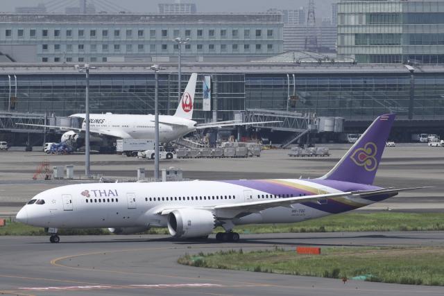 Sharp Fukudaさんが、羽田空港で撮影したタイ国際航空 787-8 Dreamlinerの航空フォト(飛行機 写真・画像)