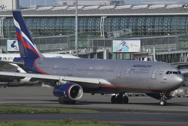 Sharp Fukudaさんが、羽田空港で撮影したアエロフロート・ロシア航空 A330-343Xの航空フォト(飛行機 写真・画像)