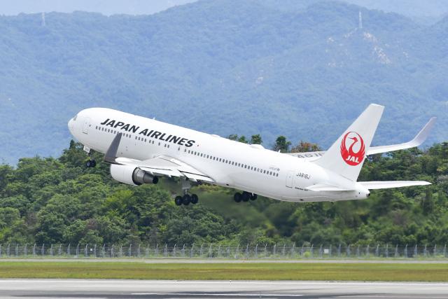 miffyさんが、広島空港で撮影した日本航空 767-346/ERの航空フォト(飛行機 写真・画像)