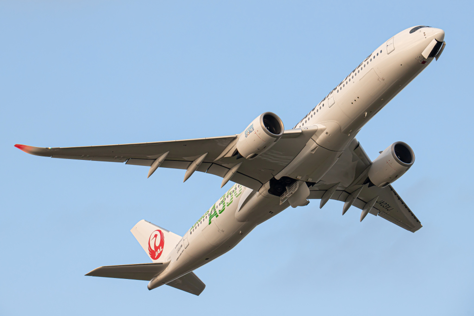 SGR RT 改さんの日本航空 Airbus A350-900 (JA03XJ) 航空フォト