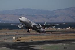 kaltさんが、サンフランシスコ国際空港で撮影したエミレーツ航空 777-31H/ERの航空フォト(飛行機 写真・画像)
