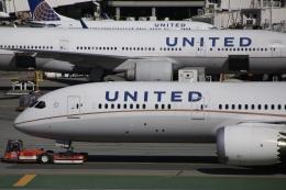 kaltさんが、サンフランシスコ国際空港で撮影したユナイテッド航空 787-9の航空フォト(飛行機 写真・画像)