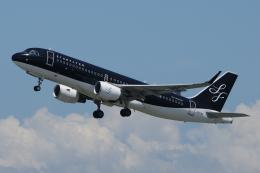 きんめいさんが、関西国際空港で撮影したスターフライヤー A320-214の航空フォト(飛行機 写真・画像)