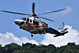 MSN/PFさんが、静岡ヘリポートで撮影した静岡県消防防災航空隊 AW139の航空フォト(飛行機 写真・画像)