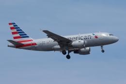 zettaishinさんが、ジェネラル・エドワード・ローレンス・ローガン国際空港で撮影したアメリカン航空 A319-112の航空フォト(飛行機 写真・画像)