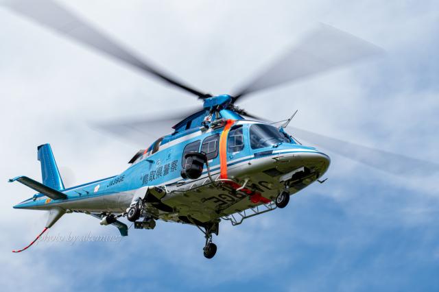 あけみさんさんが、茨城空港で撮影した鳥取県警察 AW109SPの航空フォト(飛行機 写真・画像)