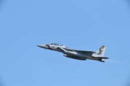 博タンさんが、小松空港で撮影した航空自衛隊 F-15DJ Eagleの航空フォト(飛行機 写真・画像)