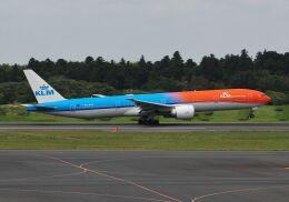 Syunbou13さんが、成田国際空港で撮影したKLMオランダ航空 777-306/ERの航空フォト(飛行機 写真・画像)