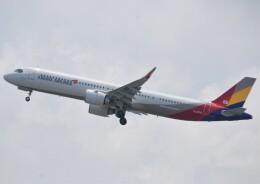 takikoki50000さんが、関西国際空港で撮影したアシアナ航空 A321-251NXの航空フォト(飛行機 写真・画像)