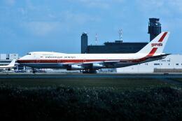 パール大山さんが、成田国際空港で撮影したガルーダ・インドネシア航空 747-2U3Bの航空フォト(飛行機 写真・画像)