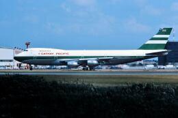 パール大山さんが、成田国際空港で撮影したキャセイパシフィック航空 747-267Bの航空フォト(飛行機 写真・画像)
