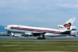パール大山さんが、伊丹空港で撮影したタイ国際航空 DC-10-30の航空フォト(飛行機 写真・画像)
