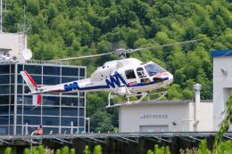 apphgさんが、静岡ヘリポートで撮影した中日本航空 AS355F2 Ecureuil 2の航空フォト(飛行機 写真・画像)