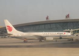 チャーリーマイクさんが、武漢天河国際空港で撮影した中国国際航空 737-86Nの航空フォト(飛行機 写真・画像)