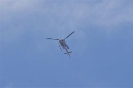 mild lifeさんが、甲子園浜上空で撮影したつくば航空 AS350B2 Ecureuilの航空フォト(飛行機 写真・画像)
