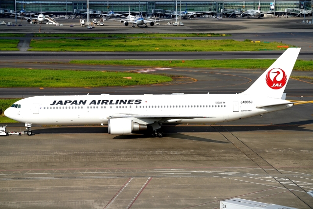 SFJ_capさんが、羽田空港で撮影した日本航空 767-346/ERの航空フォト(飛行機 写真・画像)