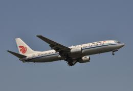 チャーリーマイクさんが、福岡空港で撮影した中国国際航空 737-86Nの航空フォト(飛行機 写真・画像)
