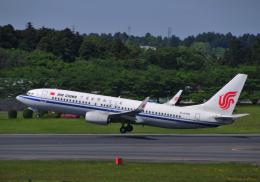 チャーリーマイクさんが、成田国際空港で撮影した中国国際航空 737-89Lの航空フォト(飛行機 写真・画像)