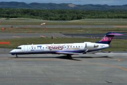 yoshibouさんが、新千歳空港で撮影したアイベックスエアラインズ CL-600-2C10(CRJ-702)の航空フォト(飛行機 写真・画像)