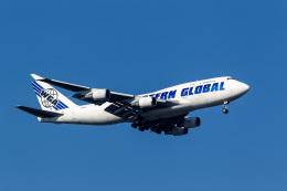 ファントム無礼さんが、横田基地で撮影したウエスタン・グローバル・エアラインズ 747-446(BCF)の航空フォト(飛行機 写真・画像)