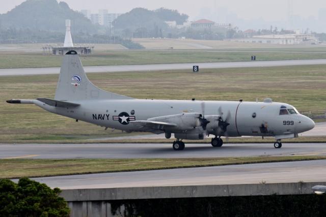 TA27さんが、嘉手納飛行場で撮影したアメリカ海軍 P-3C AIPの航空フォト(飛行機 写真・画像)
