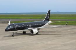 F.YUKIHIDEさんが、山口宇部空港で撮影したスターフライヤー A320-214の航空フォト(飛行機 写真・画像)