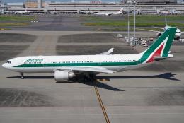 SFJ_capさんが、羽田空港で撮影したアリタリア航空 A330-202の航空フォト(飛行機 写真・画像)