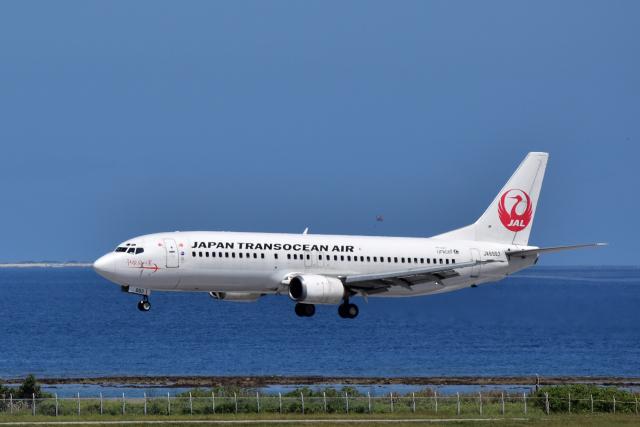 Take51さんが、那覇空港で撮影した日本トランスオーシャン航空 737-446の航空フォト(飛行機 写真・画像)