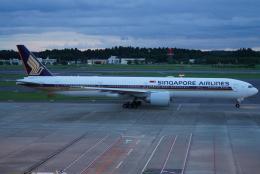 SFJ_capさんが、成田国際空港で撮影したシンガポール航空 777-312/ERの航空フォト(飛行機 写真・画像)