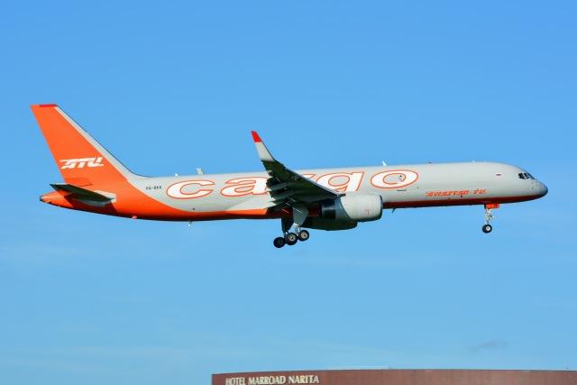 あまるめさんが、成田国際空港で撮影したアビアスター 757-223(SF)の航空フォト(飛行機 写真・画像)
