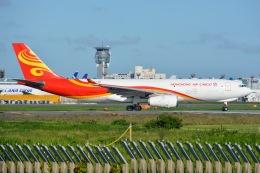 あまるめさんが、成田国際空港で撮影した香港エアカーゴ A330-243Fの航空フォト(飛行機 写真・画像)