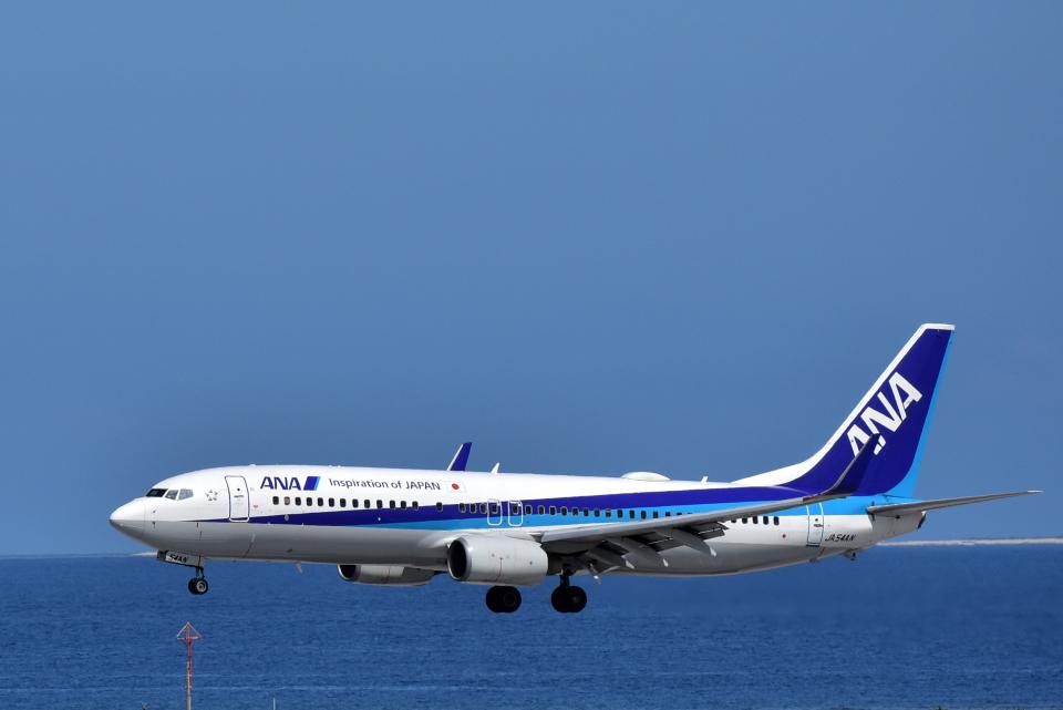 Take51さんの全日空 Boeing 737-800 (JA54AN) 航空フォト