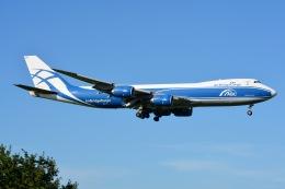 あまるめさんが、成田国際空港で撮影したエアブリッジ・カーゴ・エアラインズ 747-8HVFの航空フォト(飛行機 写真・画像)