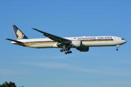 あまるめさんが、成田国際空港で撮影したシンガポール航空 777-312/ERの航空フォト(飛行機 写真・画像)
