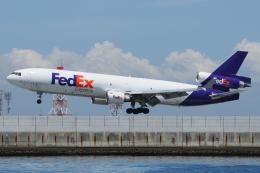 きんめいさんが、関西国際空港で撮影したフェデックス・エクスプレス MD-11Fの航空フォト(飛行機 写真・画像)