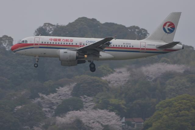 Deepさんが、福岡空港で撮影した中国東方航空 A319-112の航空フォト(飛行機 写真・画像)