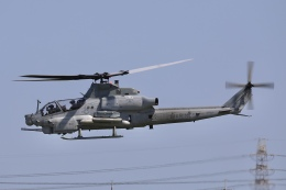 Hii82さんが、八尾空港で撮影したアメリカ海兵隊 AH-1 SeaCobra/SuperCobraの航空フォト(飛行機 写真・画像)