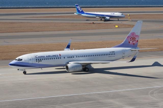 磐城さんが、中部国際空港で撮影したチャイナエアライン 737-809の航空フォト(飛行機 写真・画像)